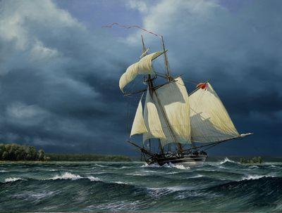 HMS Tecumseth Rolling Home