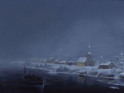 Sandwich Waterfront, 1801