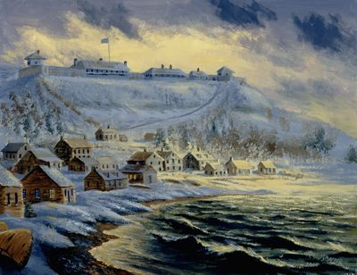 Fort Mackinac, 1812