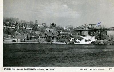 Bracebridge Falls, Bracebridge, Muskoka, Ontario