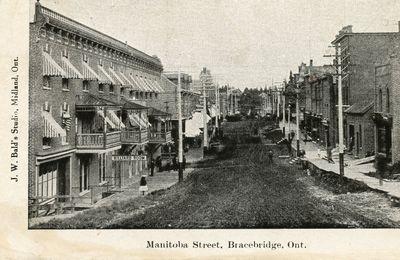 Manitoba Street, Bracebridge, Ont.