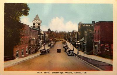 Main Street, Bracebridge, Ontario Canada 2B