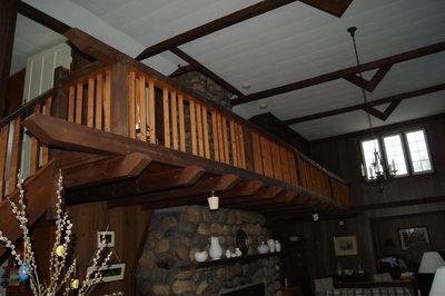 Woodmere Inn Upper Balcony