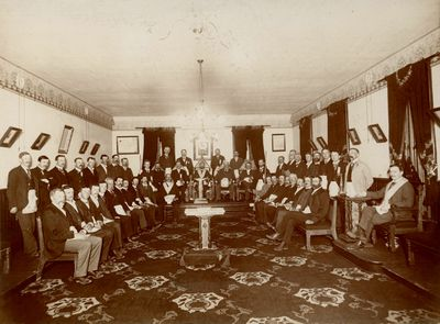 United Lodge # 29 Group Photo 25 May 1899