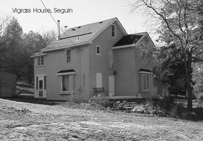 Vigrass House, Seguin Falls.  Date unknown.