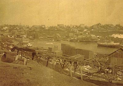 Burk's Falls and the Magnetawan River, circa 1890