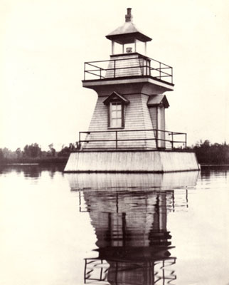 Lighthouse on Magnetawan River Near Distress River, circa 1925.
