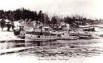 """""""The Fleet"""" at Burk's Falls Wharf, circa 1909"""