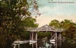 The North Bridge at Katrine Painted Postcard, circa 1910