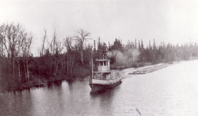 The Mike on the Magnetawan, circa 1923