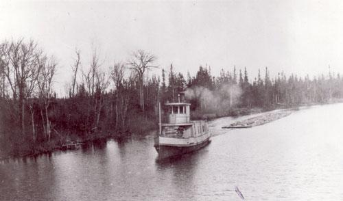 The Mike on the Magnetawan, circa 1923