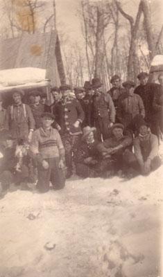 Group of Local Loggers, circa 1930