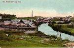 The Tannery, Burk's Falls, circa 1917.