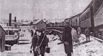 Hunters Arriving at the Burk's Falls Wharf, 1909