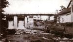 The Dam, Flume, and Galna Bridge Near Knight Lumber, circa 1931.