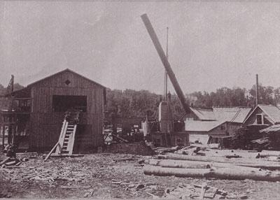 Working Lumber Mill, circa 1920