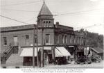 The Sharpe Building, Burk's Falls, circa 1940
