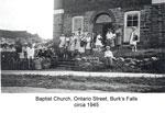 Baptist Church of Burk's Falls, circa 1945