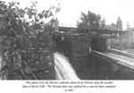 Wooden Dam at Burk's Falls, circa 1930