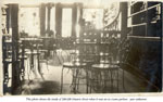 Inside the Ontario Street Ice Cream Parlor, Burk's Falls, circa 1910