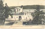 The Steamer Armour, on Lake Cecebe at the Midlothian Wharf, circa 1920
