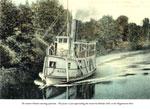 The Steamer Wanita Returning Upstream, circa 1920