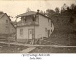 Tip-Toff Cottage, Burk's Falls, circa 1905.