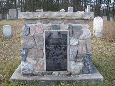 104264 Grey Road 10 - St John's Lutheran Pioneer Cemetery