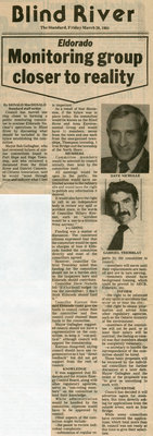 Monitoring Group Closer To Reality - The Standard, 1981