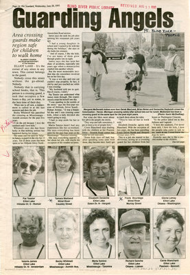 Guarding Angels, Blind River and Elliot Lake, The Standard, 1995