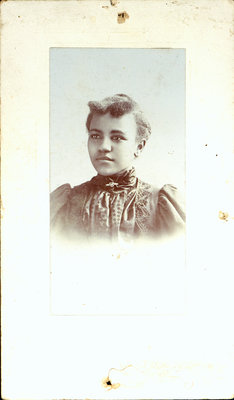 Photograph of Girl by Edwin Poole, Photographer, St. Catharines [n.d.]