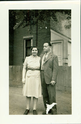 Lizzie and Sid Sloman, London, Ontario [n.d.]