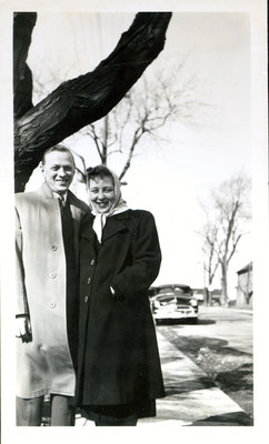 Roy and Shirley (Sloman) Johnson [n.d]