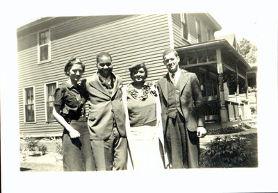 Vera Sloman, Richard Bell, Iris Sloman Bell and Bert Sloman [n.d.]