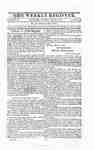 The Weekly Register - March 1813 and Index