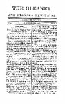 The Gleaner and Niagara Newspaper, December 25th, 1817