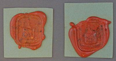 Personal Seals of Sir Isaac Brock