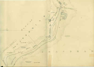 Second Welland Canal - Book 1, Survey Map 10 - St. Catharines
