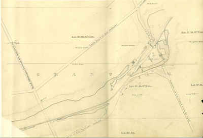 Second Welland Canal - Book 1, Survey Map 9 - Lock 2 in Grantham Township