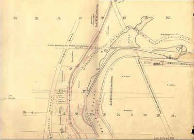 Second Welland Canal - Book 1, Survey Map 14 - St. Catharines and Lock 5