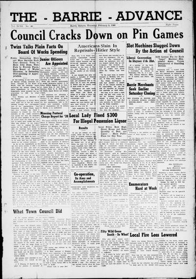 Northern Advance, 8 Feb 1940