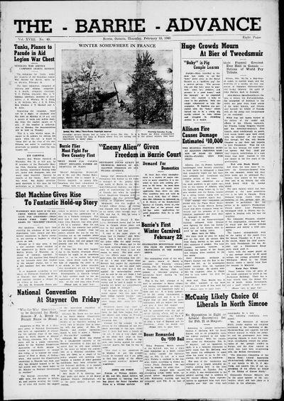 Northern Advance, 15 Feb 1940