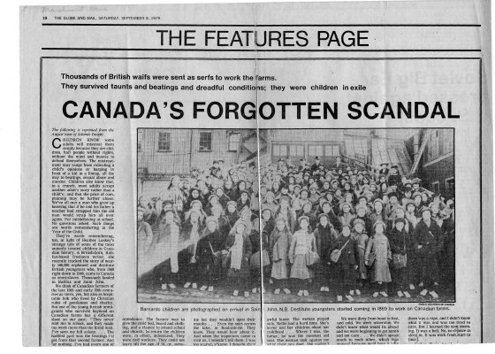 Canada's forgotten scandal