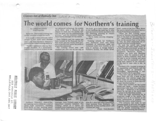 The world comes for Northern's training