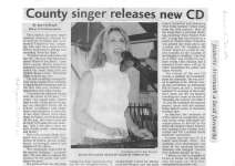 County singer releases new CD