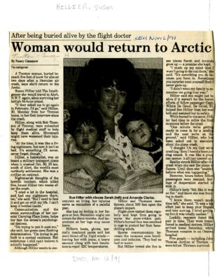 Woman would return to Arctic