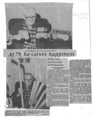 At 79, he carves happiness