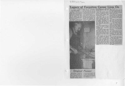 Legacy of forgotten career lives on