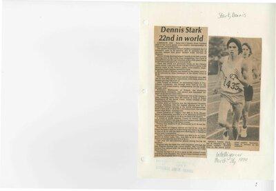 Dennis Stark 22nd in the world
