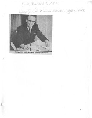 Richard Ellis Loved Children and Sports